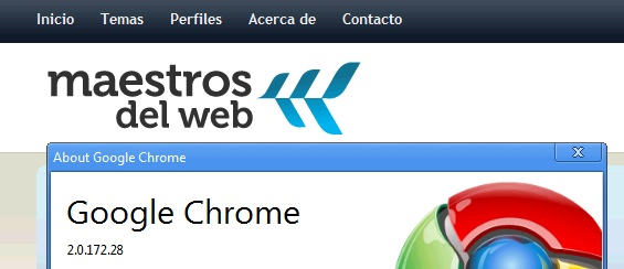 Ya está disponible la segunda versión de Google Chrome