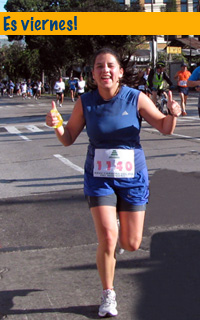 Stephanie Falla, carrera 10K