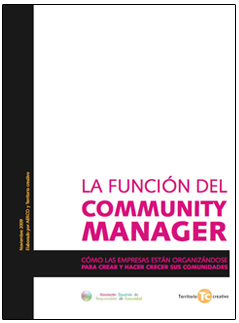 E-book: La funcin del Community Manager de AERCO y Territorio creativo