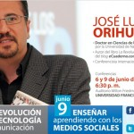 José Luis Orihuela en la Universidad Francisco Marroquín