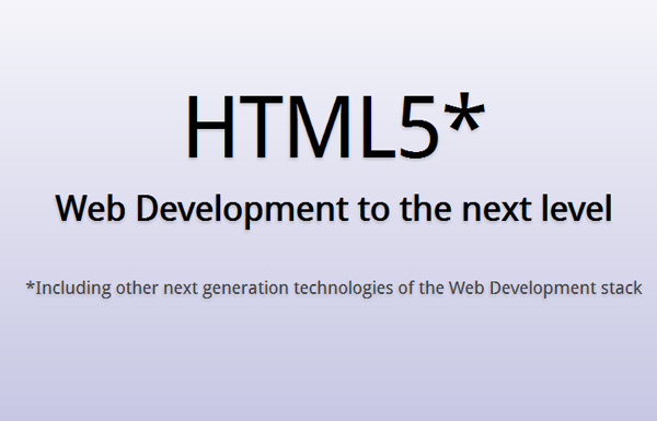 html5-web-development-nex-level