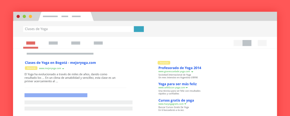 search en adwords