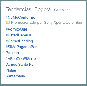 tendencias twitter