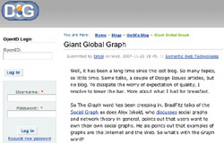Giant Global Graph