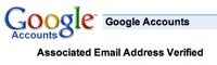 Google Account asociando emails externas
