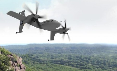 SIKORSKY AIRCRAFT CORPORATION UNMANNED ROTOR BLOWN WING CONCEPT